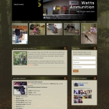 Watts Ammunition WordPress Website