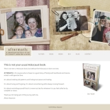 Aftermath: A Granddaughter's Story of Legacy, Healing & Hope Website Design