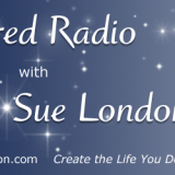 Sue London Radio Show Banner