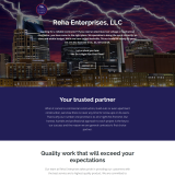 Reha Enterprises, LLC WordPress Website