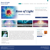 Rose of Light Website Design