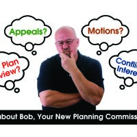 Citizen Planner What About Bob Campaign Postcard