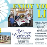 Clinton Commons Enjoy Your Life Postcard