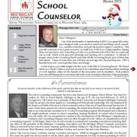MSCA Winter Newsletter 2015