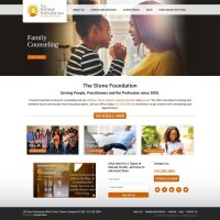 The Stone Foundation Website Design