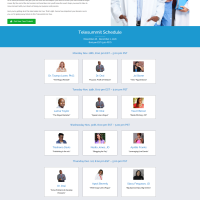 Momentum In Medicine Summit – One Page Design