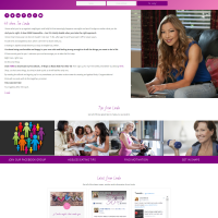 Linda Melone Website Design
